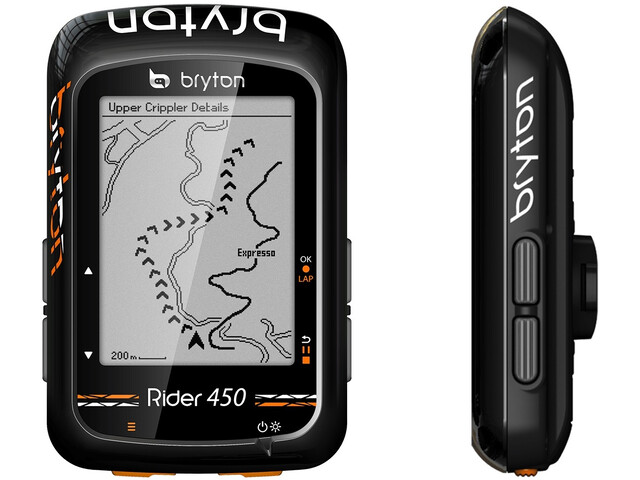 Bryton Rider 450 H HRM - Sistemas de navegación - negro